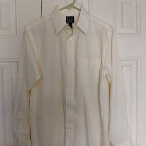 Jos A Bank mens long sleeve dress shirt   15-32